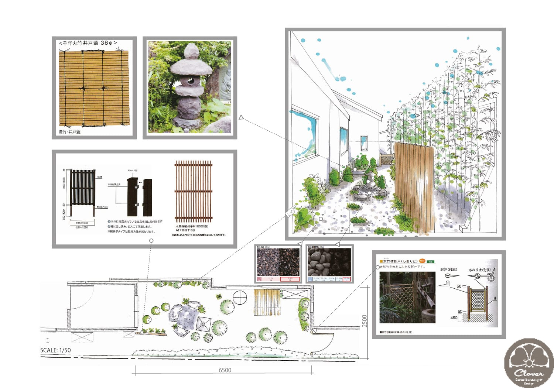 Ein japanisches Bad mit Aussicht auf einen japanischen Garten